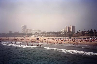 サンタモニカ(カリフォルニア州)- 映画スティングの桟橋のある街