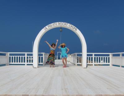 綺麗な海が見たくて♪  母と娘がケラマにオクマだよ!