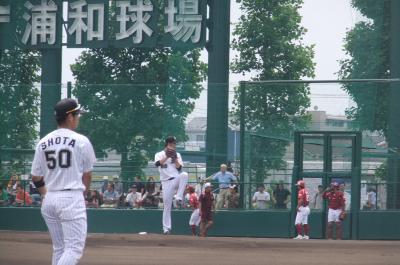 野球観戦3連チャン(浦和編)