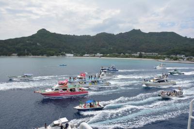 一人島巡りin小笠原&八重山【2】母島と父島見送り
