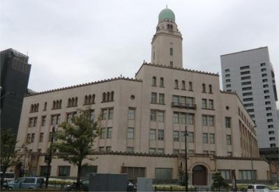 横浜・ヘリテージング街歩き。2 日本郵船歴史博物館、クイーンとキング