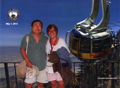 南カリフォルニアゆったり旅(2013年GW)。。。その12「Palm SpringsのAerial Tramway」
