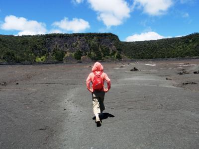2013.6 マイルで行く初ハワイ!ハワイ島&アウラニ・ディズニー満喫の旅【4】…2日目・キラウエア火山・イキトレッキング