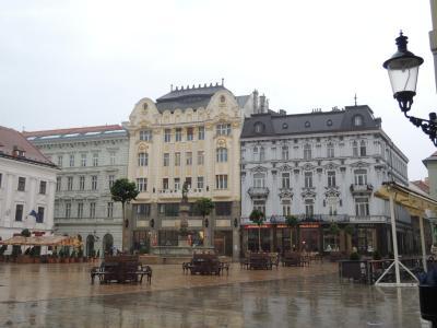 女子旅スロバキア♪雨のブラチスラバ散策