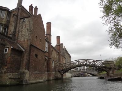 2013年英国紀行-27-ケンブリッジのパント
