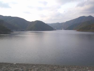 日本最大級の徳山ダム