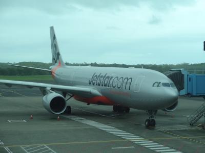 LCCのビジネスクラス ジェットスター航空搭乗記 ケアンズ~成田 Jetstar★ (2013/GW オーストラリア・ニュージーランド⑧)