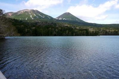 北海道東旅行2-オンネトーの素晴らしい景色,双湖台,双岳台から弟子屈へ