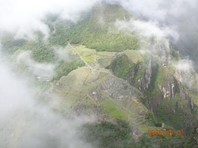 2009GW 南米旅行 マチュピチュ編