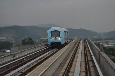 2013年6月韓国鉄道旅行4(龍仁軽電鉄)