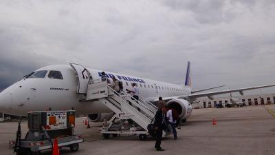 フランスの旅(01)・・・成田からパリ乗継クレルモン・フェランへ
