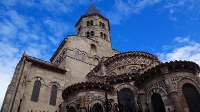 フランスの旅(04)・・・クレルモン・フェラン ノートルダム‐デュ‐ポール大聖堂