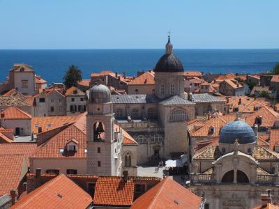 クロアチア共和国 ドブロヴニク=旧市街城壁からの展望編