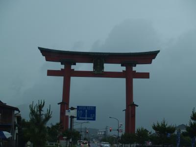 越後一ノ宮・弥彦神社(1)