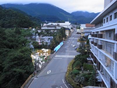 別府の杉乃井ホテルに2週連続滞在