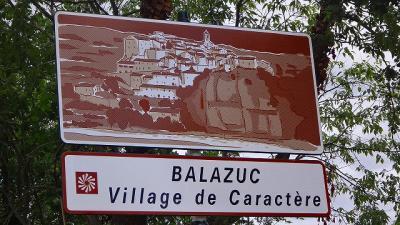 フランスの旅(24)・・・最も美しい村バラジュックへ移動して昼食