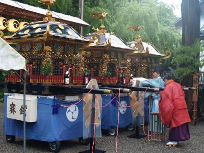 村上大祭遷座380周年祭(神事御発輿祭)