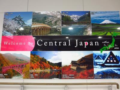 日本へ!1★セントレア★フライト遅延でドキドキ一人旅のはじまり?
