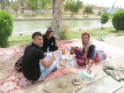 イランの旅・9/アフワズ観光後テヘランへ