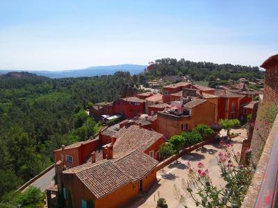 フランスの旅(36)・・・最も美しい村ルシヨンの街歩き