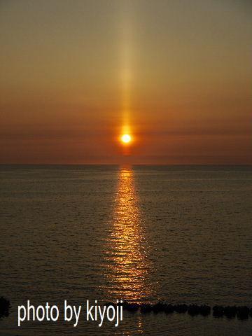 走走!北海道一周 12 サンピラー現象「太陽柱子」を見た!