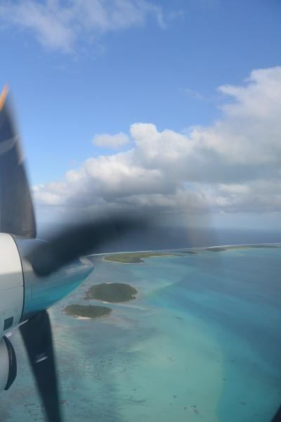 クック諸島に行ってきましたぁNO.3 アイツタキの7島めぐり~