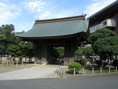 水戸藩の数少ない遺構を見る。