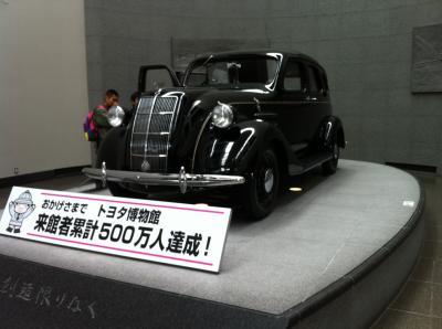平日のトヨタ博物館