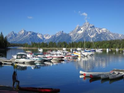 夏のワイオミング Grand Teton National Park