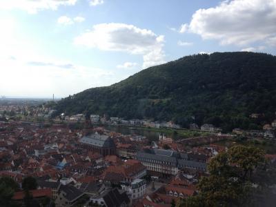●初ドイツを王道ツアーで巡る②学生の街・ハイデルベルクを散策●