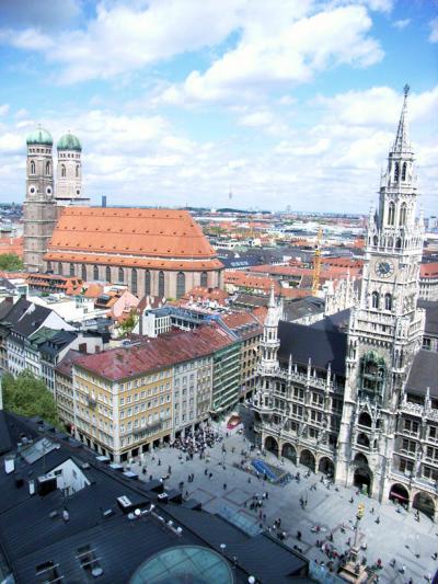 スケート観戦、ついでにドイツ観光 11.優しい人々に出会ったミュンヘン