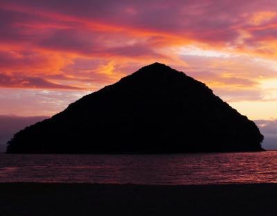 【青森県(浅虫温泉)】夕日の名所「サンセット・ビーチあさむし」