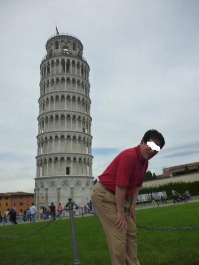 ついでにヨーロッパあちこち⇒落着いた街並みと斜塔を楽しみました。(フィレンツェ・ピサ観光編)