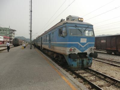 モンテネグロ共和国 ポドゴリツァ中央駅⇒ビルバザール駅