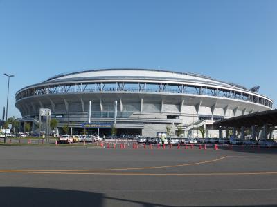 ハードエコスタジアム新潟で野球観戦&おいしいお米を食べる