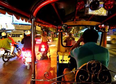 3等列車&ワイナリーの旅 in Bangkok&Hua Hin★2012 01 1-2日目【名古屋⇒ICN⇒BKK】