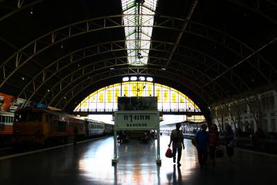 3等列車&ワイナリーの旅 in Bangkok&Hua Hin★2012 02 2-3日目【BKK:ファランポーン駅⇒Hua Hin行き列車編】