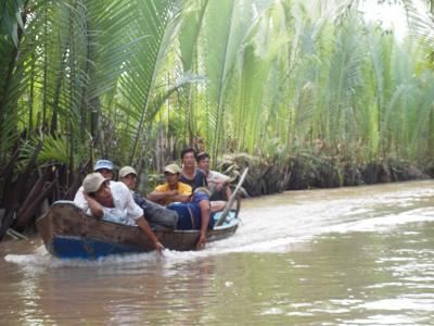 新婚旅行をもう一度 (23) メコン川へ行ってみた