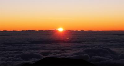 ホノルル経由ハワイ島の一週間(ハワイ島 マウナ・ケア山のサンライズ) 2013年