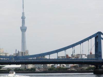 江戸の名残 日本橋川・隅田川・神田川納涼クルージング 川面から見る街並み