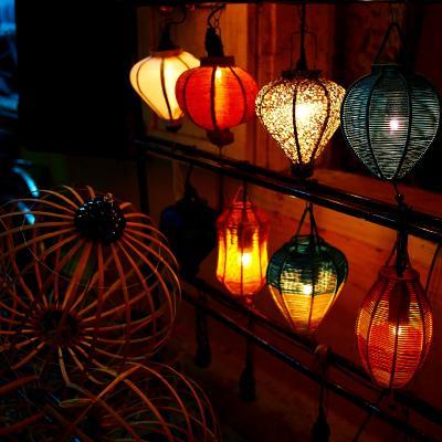 ランタンが照らしだす古都の街並み in Hoi An★2012 10 7日目【Hoi An】