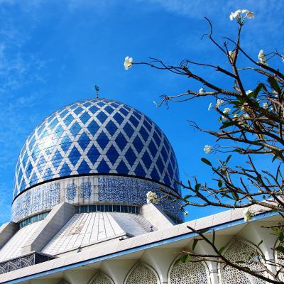 優美なモスクと極色彩の洞窟寺院を巡る旅 in Malaysia★2013 05 4日目【KL・Shah Alam】