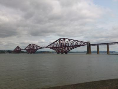 2013初夏の英独旅行5−1 大迫力の鋼鉄恐竜、フォース橋