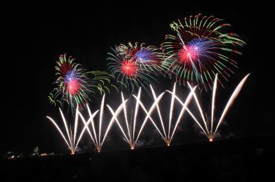パーク&レール利用のぎおん柏崎まつり 海の大花火大会 2013