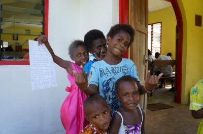 バヌアツの離島で出会った最高の笑顔 (World happiest people in Vanuatu)