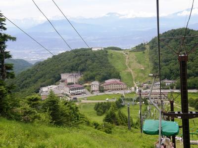 湯田中温泉フリープラン4日間の旅・・・⑥高天ヶ原と蓮池散策