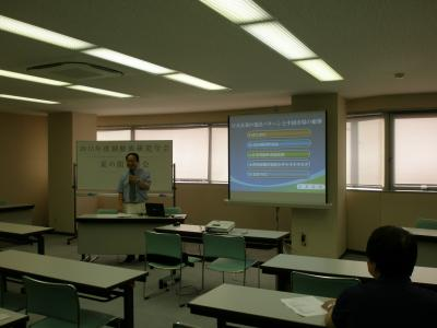 朝鮮族研究学会 2013年度 夏の関東部会 ハングリー精神の大切さを学ぶ