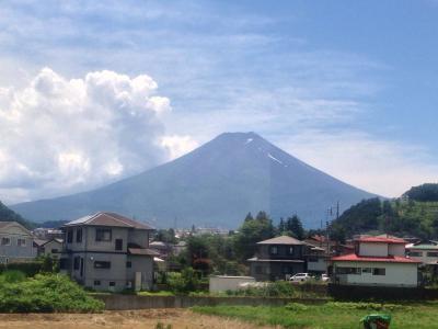 今年も誕生日に行ってきました。世界遺産 富士山周辺の旅 2日目