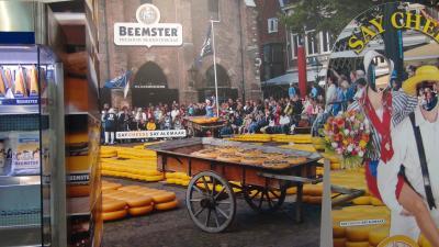 チーズ市に間に合わなかった・・アルクマール・・・・・ベルギーオランダ15日間の旅