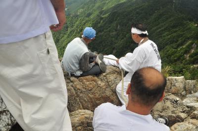 2012年8月大峰山・洞川温泉